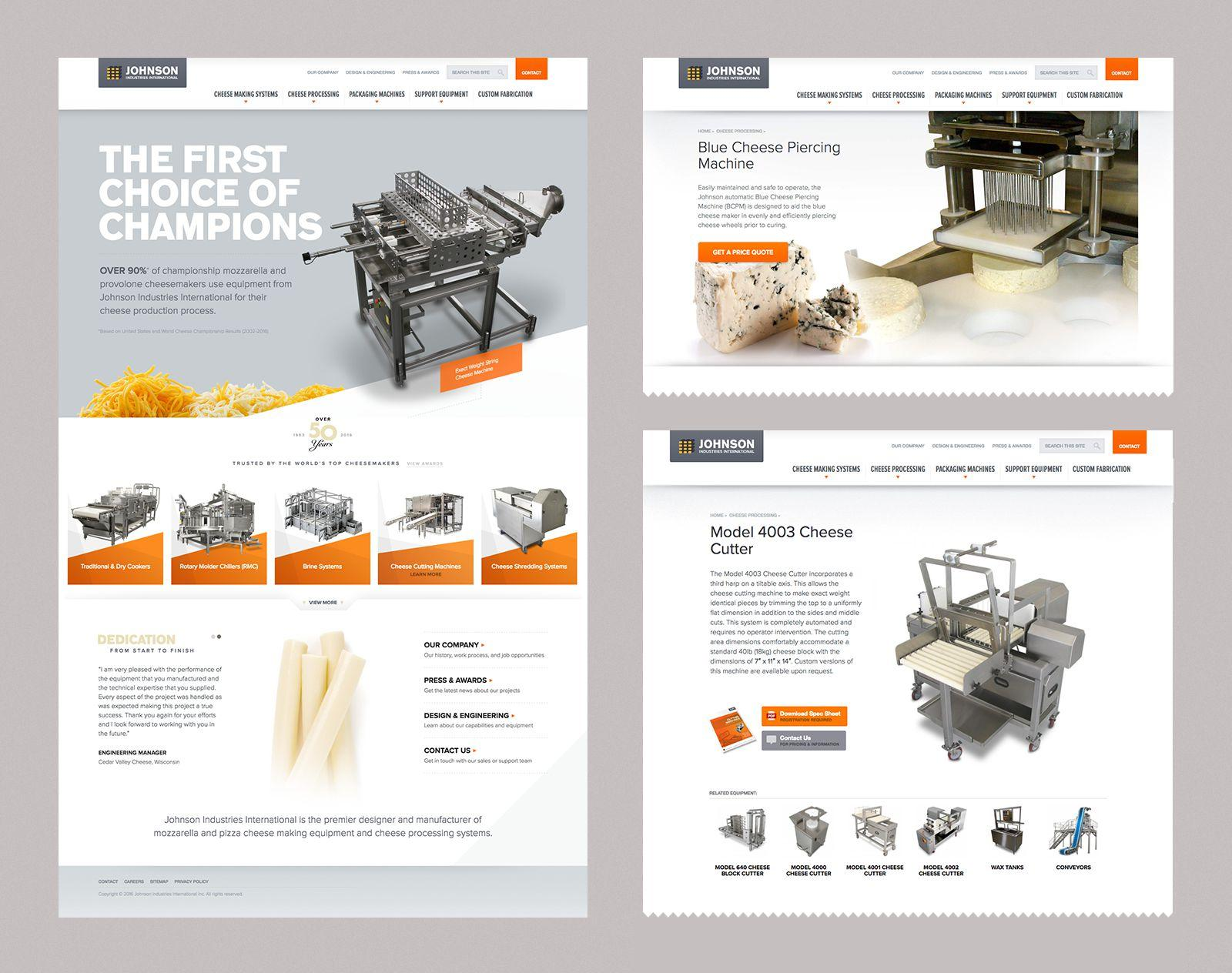 Johnson Industries Web Design