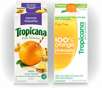 Tropicana Orange Pineapple Juice