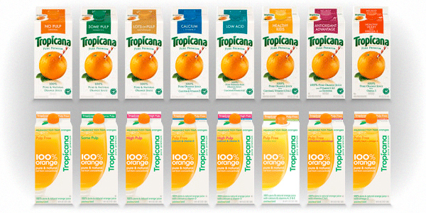 Tropicana Packaging by Sterling Brands